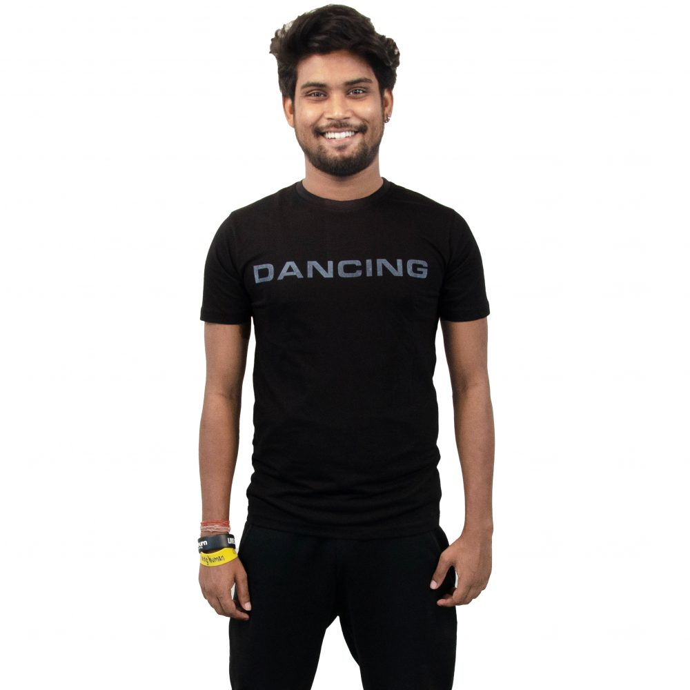 dancing black tshirt