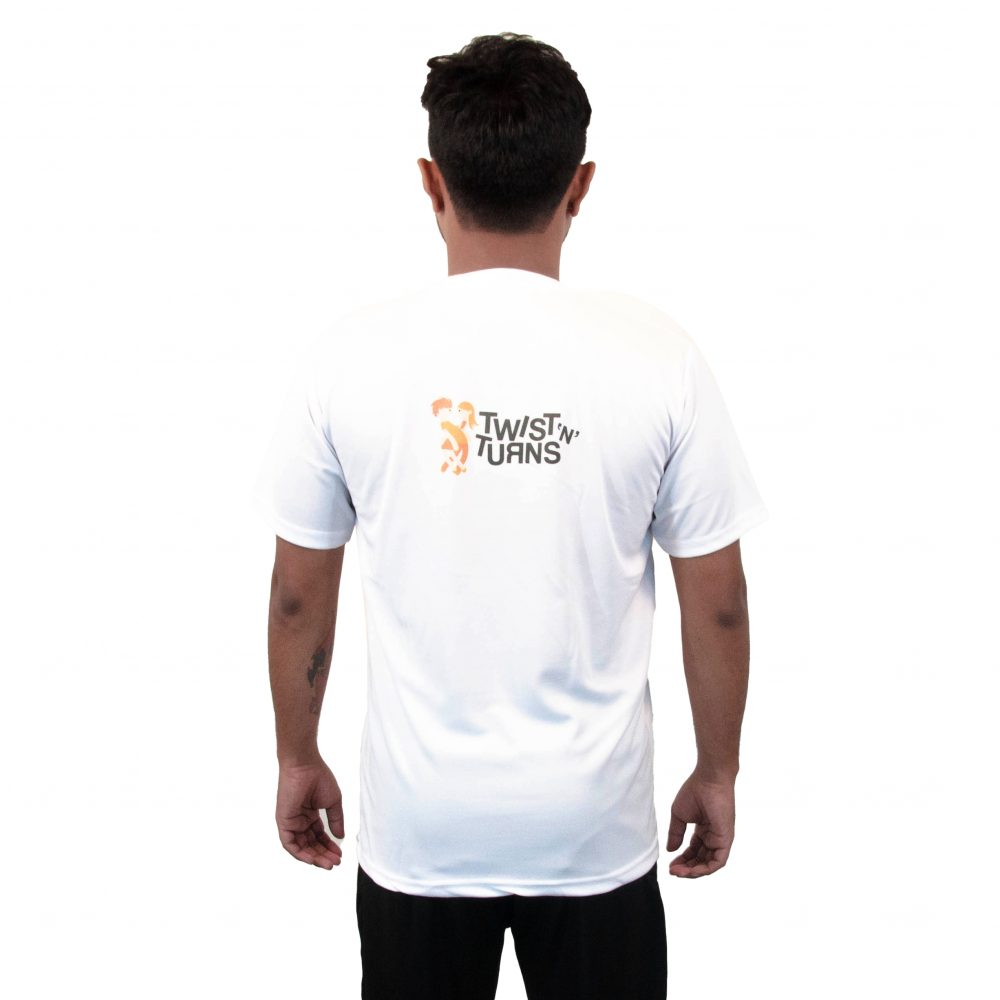 It's all about Dance - White Round Neck T-Shirt