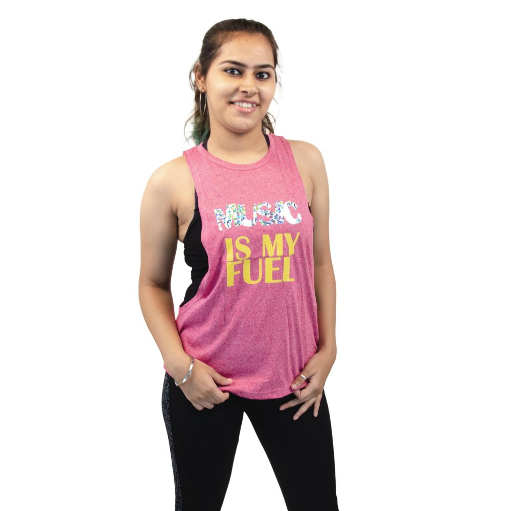 Women's Tank Top – Music Is my fuel