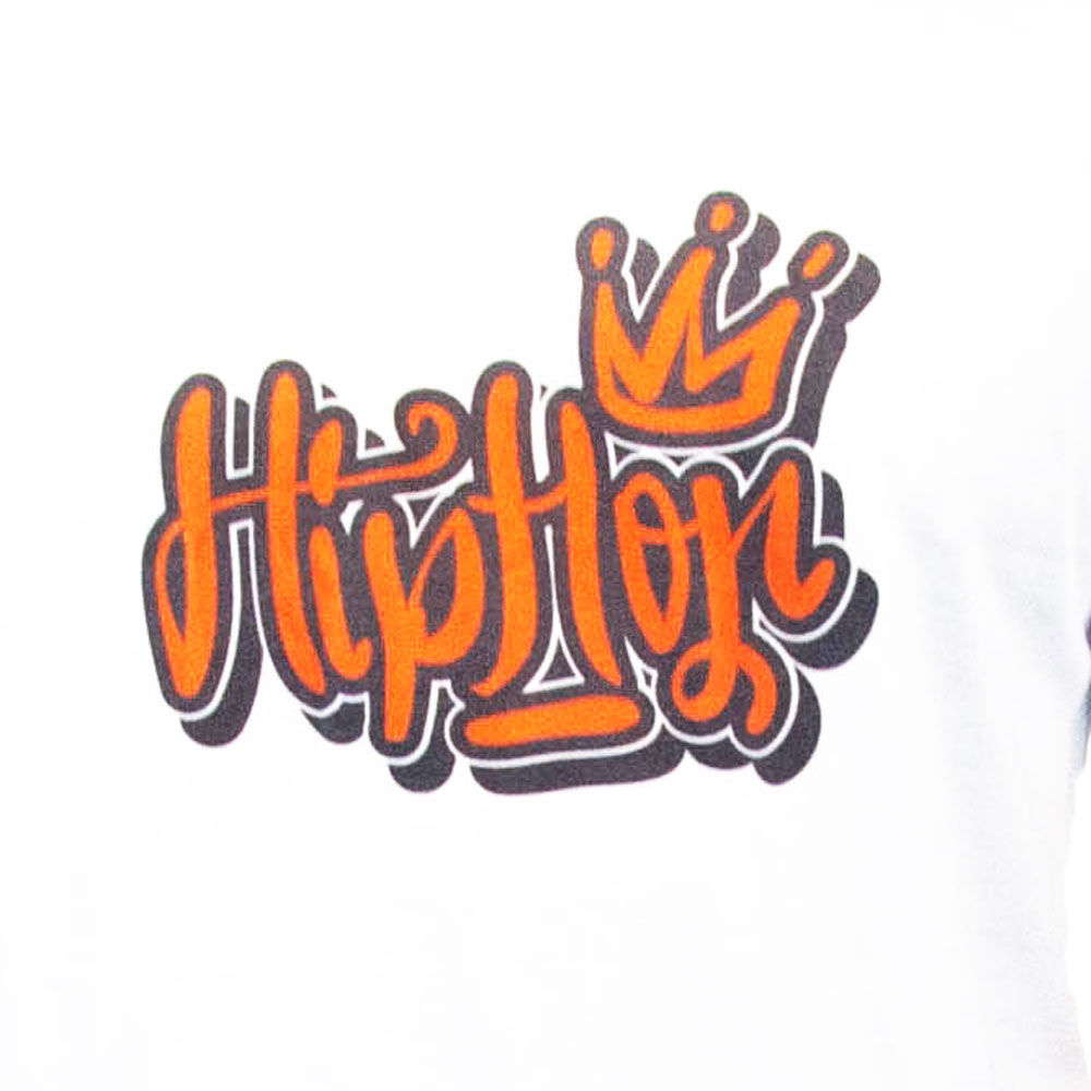 Hip hop crown tshirt